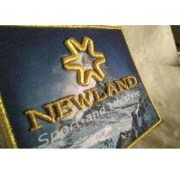 Wholesale 3D Raised Logo Woven Custom Embroidered Patches Sew On Cloth Badges from china suppliers