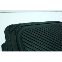 Quality Tailored Black Anti Slip Rubber car Mat Washable Ribbed Rubber Matting for sale