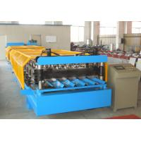 Wholesale Durable Corrugated Roof Panel Roll Forming Machine , Metal Roof Roll Forming Machine from china suppliers