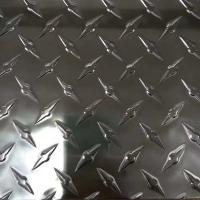 Wholesale Aluminum Diamond Tread Plate 600-2000mm Width With Small Five Bar from china suppliers