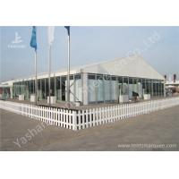 Wholesale Transparent Glass Wall Outdoor Aluminum Profile Car Exhibition Tent against Ultraviolet from china suppliers