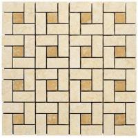 Wholesale Natural Marble Stone Mosaic Tile For Bathroom Floor 10x10mm, 15x15mm from china suppliers