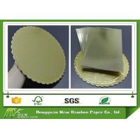 Wholesale Environment Grade A Laminated Paperboard Gold Paper Grey Back For Cake Bakery from china suppliers