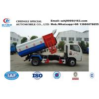 Wholesale Factory sale best price 3.5ton Self Loading Garbage Truck, HOT SALE!lower price DFAC China Hydraulic Lifter Garbage Truc from china suppliers