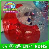 Wholesale QinDa Inflatable loopy ball bubble soccer/bubble football from china suppliers