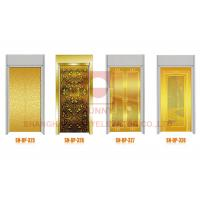 Wholesale Residential Platform Illumination Elevator Cabin Decoration Elevator Door Panel from china suppliers
