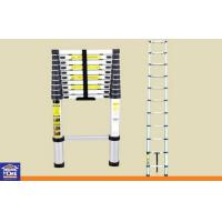 Wholesale Height Adjustable 9 Step Aluminium Home Ladders , Extension Telescopic Ladder from china suppliers
