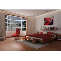 Wood Pattern PVC Vinyl Flooring For Living Room / Porch Small Water Absorption