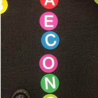 Wholesale Bright Circle Classroom Carpet Markers , Home Decor Velcro Carpet Spots from china suppliers