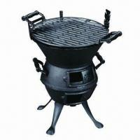 Wholesale Cast Iron BBQ Grill/Cast Iron Chimenea, Durable to Use from china suppliers