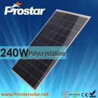 Wholesale Prostar poly 240w cheapest solar pv panel from china suppliers