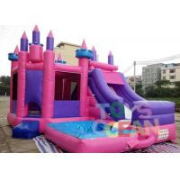 Wholesale Colourful Inflatable Bouncer Jumping Funny Castle Combo For Kids Amusement from china suppliers