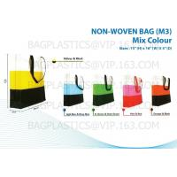 Wholesale NON WOVEN SHOPPER, pp woven bags, nonwoven bags, woven bags, big bag, fibc, jumbo bags,tex from china suppliers
