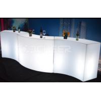 Wholesale Color Change Led Bar Counter , Plastic Led Furniture for Nightclub , KFT -14810 from china suppliers