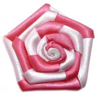 Wholesale 100% Polyester DIY Satin Ribbon Flowers for Baby Girl' s Garment Accessories from china suppliers