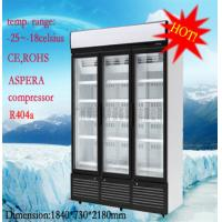Wholesale 1260 Liter Commercial Glass Display Freezer 5 Tiered With Environmental Protection from china suppliers