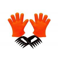 Wholesale Grilling BBQ Silicone Gloves Set 1 Paris Gloves + Bear Meat Claws from china suppliers