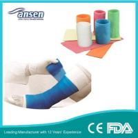 Quality Used for Adults 4inch 4yards Knitted Fiberglass Tape Fiberglass Arm Cast for Broken Bone for sale