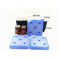 Quality PCM Coolant Food Grade Large Cooler Ice Packs Hard Plastic  For Food Medicine for sale