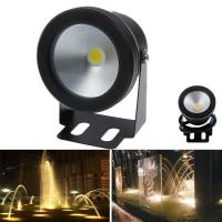 Wholesale 10W 12V LED Underwater Fountain Light 1000LM Swimming Pool Pond Waterproof Fish Tank Aquarium LED Light Lamp Warm from china suppliers