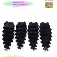 Buy cheap high quality DHL Fedex fast delivery no shedding 100% virgin peruvian raw hair from wholesalers