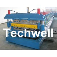 Wholesale 7.5KW, 0.3 - 0.8mm Double Layer Roof Panel Roll Forming Machine from china suppliers