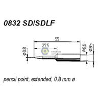 Wholesale ERSADUR 0832SD SDLF Long-Life Soldering Tip for ANALOG 60/60A,ANALOG 80/80A,DIGITAL 2000A from china suppliers