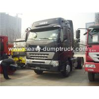 Wholesale High Roof Cabin Automatic Tractor Trailer With 371 hp Powerful Engine For Towing Trailers from china suppliers