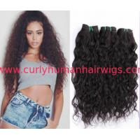Quality Customized Brazilian Curly Human Hair Weave for Black Women for sale