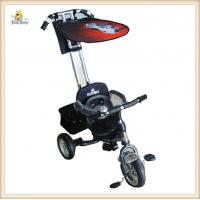 Wholesale Black Safety Baby Tricycles With EN71 Approvals , Kids Tricycles from china suppliers