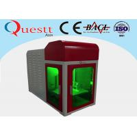 Wholesale Small Size Angle 3D Crystal Laser Engraving Machine PC Control With Advanced Galvanom from china suppliers