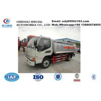 Wholesale Factory sale high quality and lower price JAC brand 5m3 fuel dispensing truck, HOT SALE! JAC 4*2 LHD 5cbm oil tank truck from china suppliers