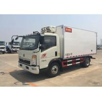 Wholesale Euro 2 5 Ton Refrigerated Truck For Frozen Foods Transporting XL-300  -18 Degree from china suppliers