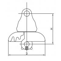 suspension insulator ANSI 52-1