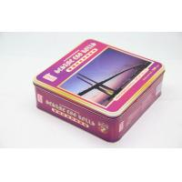 Buy cheap Customized Square Metal Tin For Biscuit / Candy / Mooncake Packing from wholesalers