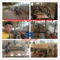 Automatic porcelain ceramic tile squaring and chamfering machinery, square chamfer machine