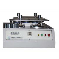 Wholesale 4 Station Martindale Abrasion Testing Machine For Fabric / Textile / Rubber And Leather from china suppliers