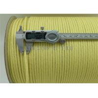 Wholesale Braided Aramid / Kevlar Fiber Heat Resistant Rope High Strength Fire Retardant from china suppliers