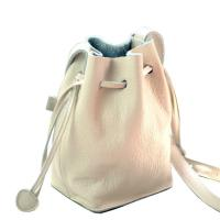 Wholesale Wholesale Handmade Girls Genuine Leather Small Drawstring Bag from china suppliers