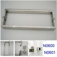 Wholesale SUS304 Polished Chrome shower handle / glass door handle N0600 N0601 from china suppliers
