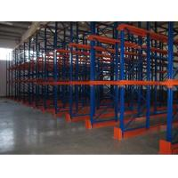 Wholesale Metal double side Drive In Pallet Racking for cold store , pallet Shelving Racks from china suppliers