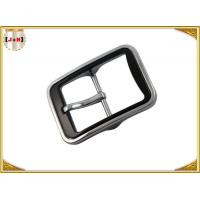 Wholesale Various Color Plated Metal Heel Bar Belt Buckle With Pin For Leather Belts from china suppliers
