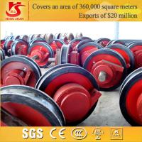 Wholesale Chinese manufactured forged heavy duty gantry crane wheels from china suppliers