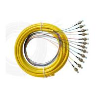 Wholesale PVC, OM1, OM2 or OM3 Bundle Multi - Fiber Optic Pigtail for Video Transmission from china suppliers