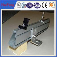 Wholesale OEM achievable solar mounting structure and solar panel mounting rail for sale from china suppliers