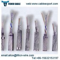 China OPGW Cable Fiber Optic Manufacturers Per Meter Price on sale