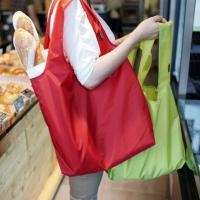 Buy cheap The new nylon environmental folding portable bag Casual handbags The large capacity waterproof shopping bag from wholesalers