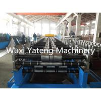 Quality Automatic Double Deck Roll Forming Machine Steel Roll Former Chain Transmission for sale