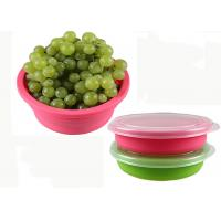 Wholesale Protable Round Foldable Silicone Collapsible Bowl Activity For Outdoor from china suppliers