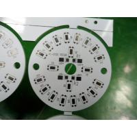 Wholesale Round Metal Single Layer LED Bulb PCB 1.0mm / 1.2mm / 1.5mm Custom LED PCB from china suppliers